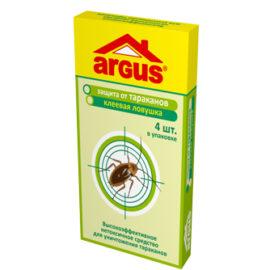 ARGUS Клеевая ловушка от тараканов 4 шт.