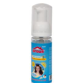 ARGUS baby крем детский от комаров, мошек (50 мл. флакон с дозатором)